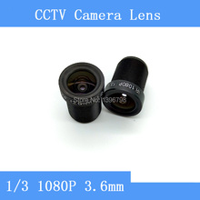 PU Aimetis Factory direct surveillance camera lens M12 interfaces F2 fixed aperture 1080P 3 6mm CCTV