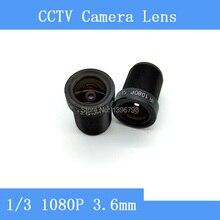 Factory direct surveillance camera lens M12 interfaces F2 fixed aperture 1080P 3.6mm CCTV lens