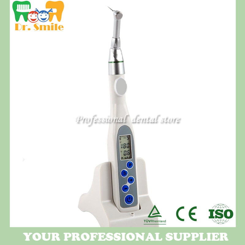 Dental Equipment Motor Dental Wireless Cordless ENDO TREATMENT Equipment endodontic Motor 2017 new 2 boxes dental original woodpecker niti endo endodontic u file optional 15  40 used for root canal cleaning