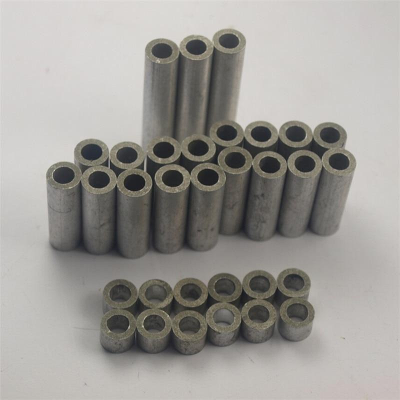 цена на Funssor OX X-carve shapeoko CNC DIY aluminum spacers kit ID 5 mm 1-1/2 inch Aluminum Spacers 1/8 inch Aluminum Spacers 1/4