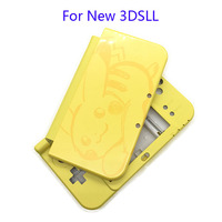 For Nintendo Pikachu Style New 3DSXL Case Replacement Housing Shell Case For New 3DS XL LL