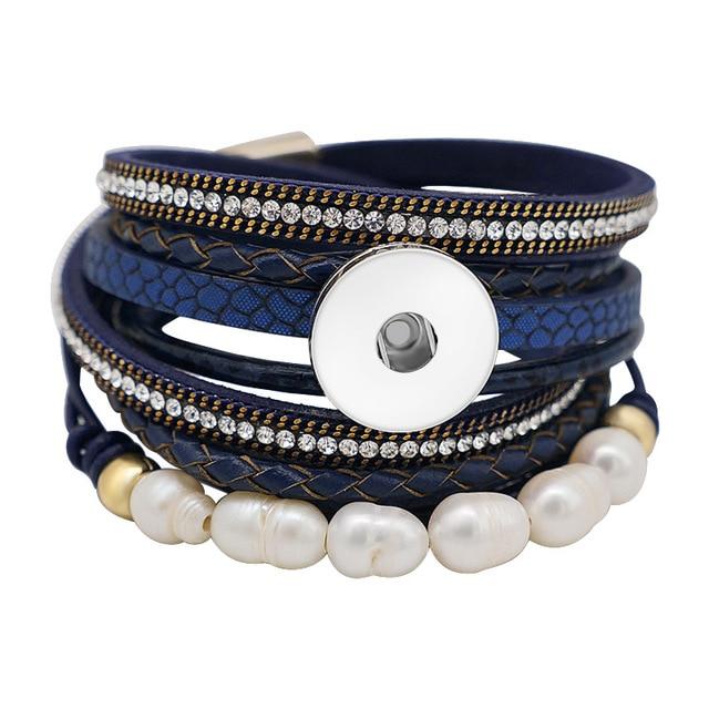 SE0206 Rhinestone Pearls...
