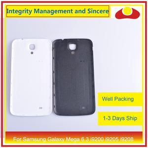 Image 3 - 10 шт./лот для Samsung Galaxy Mega 6,3 i9200 i9205 i9208 GT I9200 корпус Батарейная дверь задняя крышка корпус