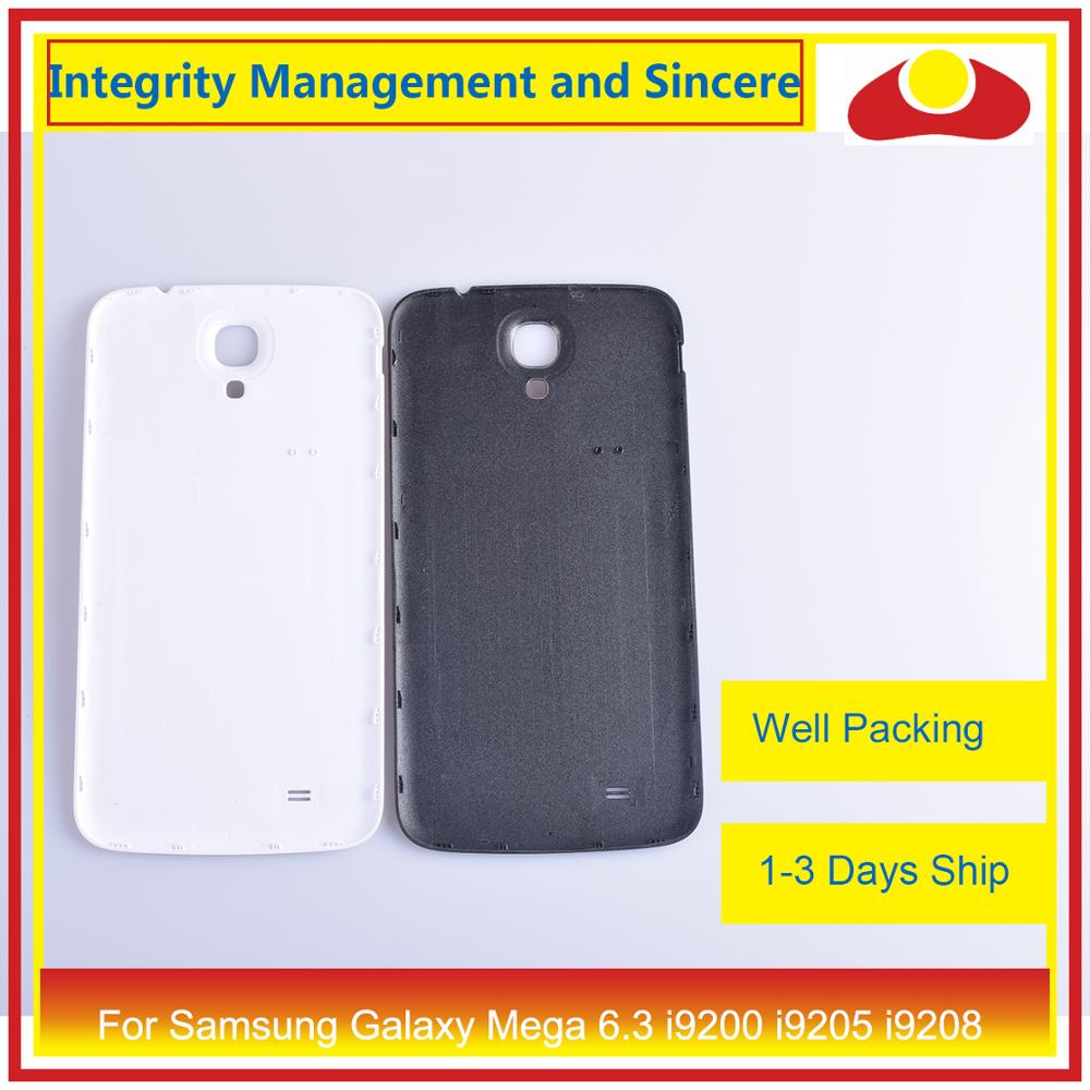 Image 3 - For Samsung Galaxy Mega 6.3 i9200 i9205 i9208 GT I9200 Housing Battery Door Rear Back Cover Case Chassis Shell Replacement-in Mobile Phone Housings & Frames from Cellphones & Telecommunications