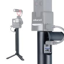 5200mAh 2 in 1 Extend Pole Power Bank Stick Handle Grip for Osmo Pocket Gopro Hero 7 6 5 EKEN Sjcam Vlog Stick Grip