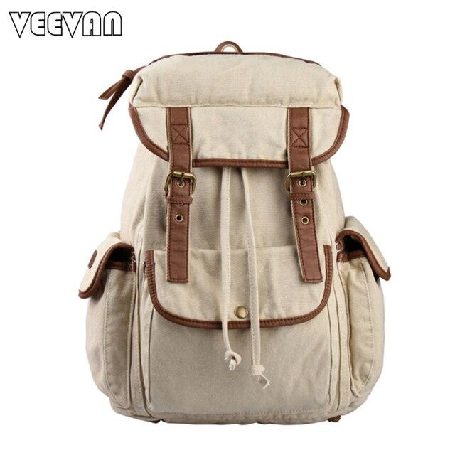 2017 Fashion Drawstring Vintage Backpack Women Shoulder Bag School ...