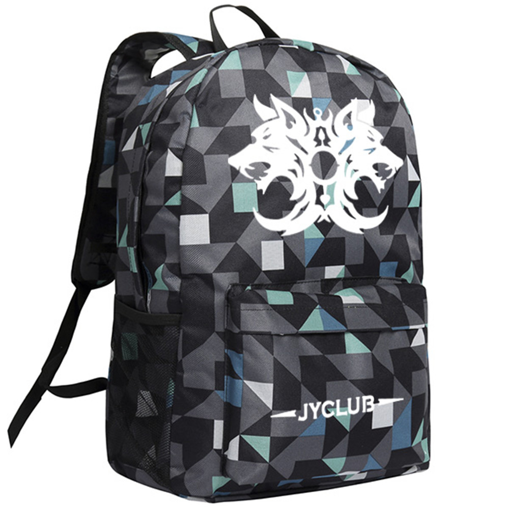 Zshop Board Game Wolf Killer Backpack The Prophet Shoulder Bags for Children Schoolbag the sea wolf
