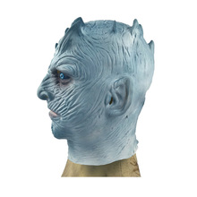 Ночной король маска латексная Хэллоуин правильная игра фильм и танцевальный мяч маска лед и огненная песня
