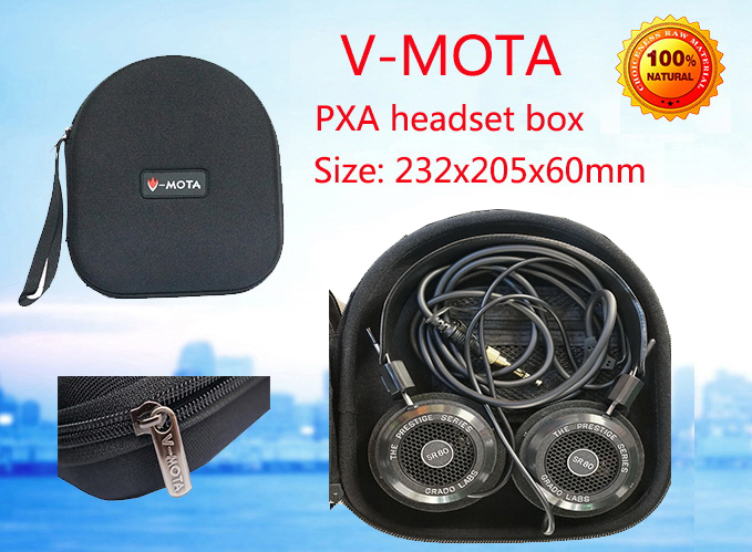 V-MOTA PXA Headphone Carry case boxs For GRADO SR60,SR80,SR80i,SR125e,SR225e,SR325e,SR325is,RS1e,RS2e,M1 M2 PS500e headphone