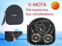V-MOTA PXA Headphone Carry case boxs For GRADO SR60,SR80,SR80i,SR125e,SR225e,SR325e,SR325is,RS1e,RS2e,M1 M2 PS500e headphone v mota pxa headphone carry case boxs for jbl e35 e40 e45 bt e55 bt t450 bt headphone