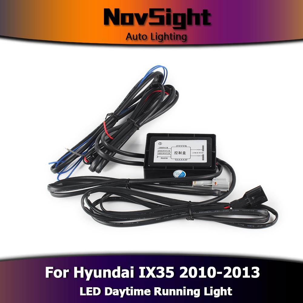NOVSIGHT Auto Car LED Lights DRL Daytime Running Lights Driving Fog ...