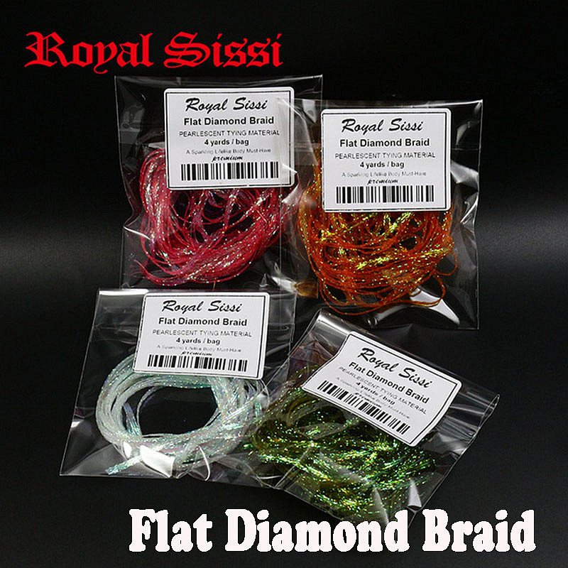 hot 10colors Fly Tying dyed Pearl Braided Lace flat diamond braid 2.8mm with pearlescent tones fly fishing body tying materials 5sheets pack 10cm x 5cm holographic adhesive film fly tying laser rainbow materials sticker film flash tape for fly lure fishing
