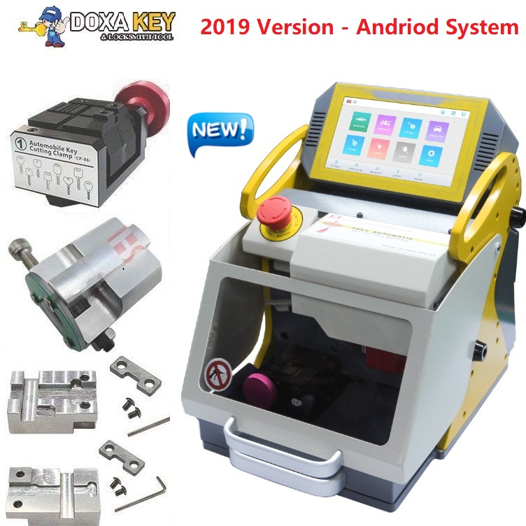 2019 Newest SEC E9 Laser Engrave Machine For Auto And House Keys All Lost Copy Funtional