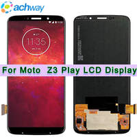 Original For Motorola Moto Z3 Play LCD Display Z3 Play + Touch Screen Digitizer Panel Assembly Replacement For Moto XT1929 LCD