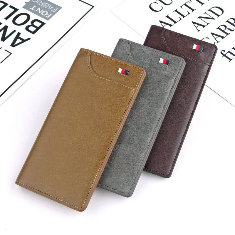 NO.ONEPAUL Brand Wallet Men Mens Money Bag Quality Guarantee Leather Men Wallets Purse Short Male Clutch Leather Wallet
