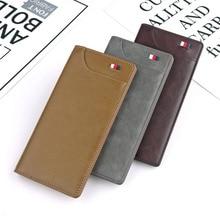 цена на NO.ONEPAUL brand Wallet men mens money bag quality guarantee leather men wallets purse short male clutch leather wallet