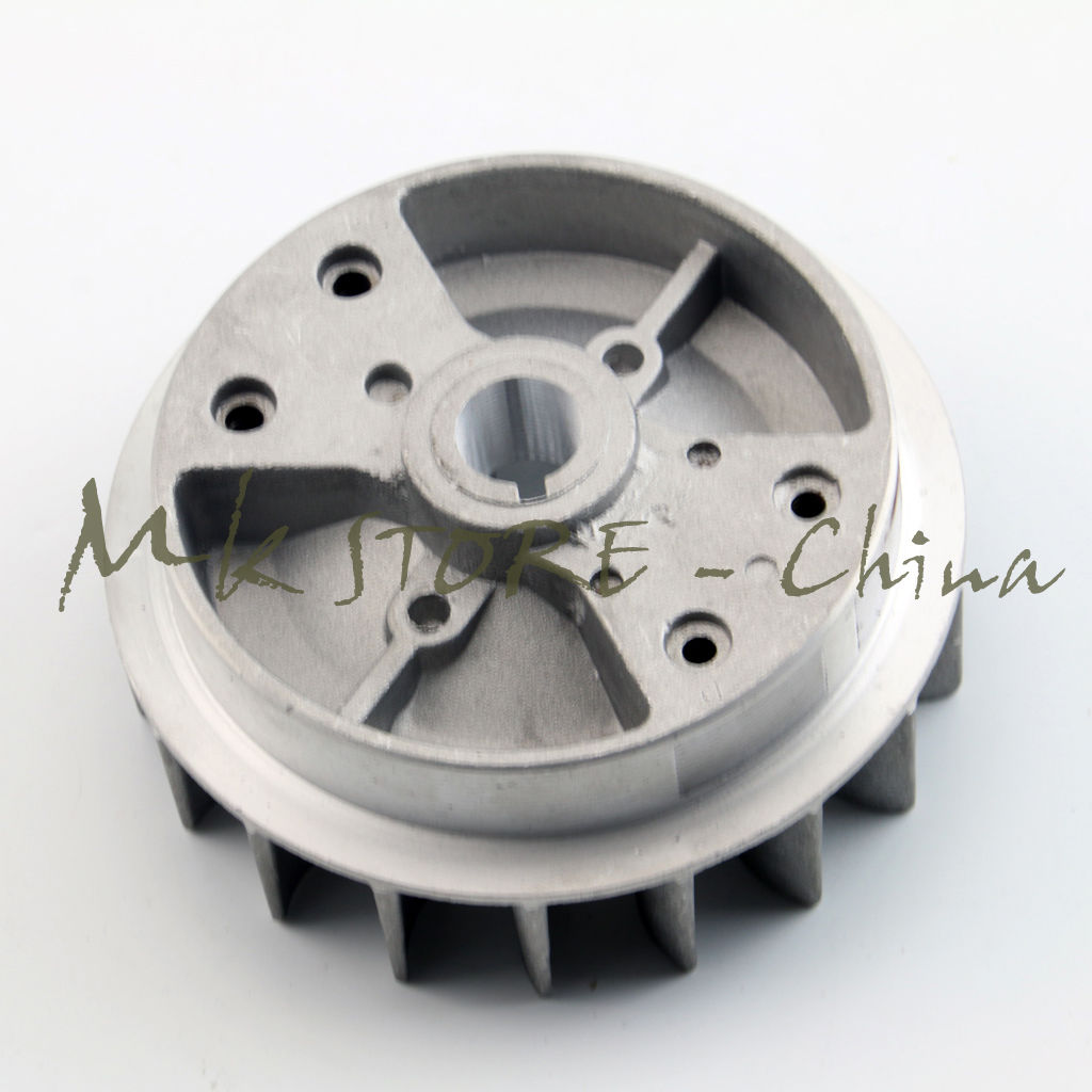 small resolution of pull start flywheel clutch 49cc dirt mini pocket atv quad bike scooter black in turbos parts from automobiles motorcycles on aliexpress com