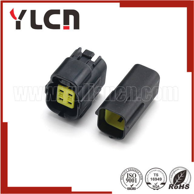 1 set auto connect plugs black male female connector amp 1 8 4 pins rh aliexpress com