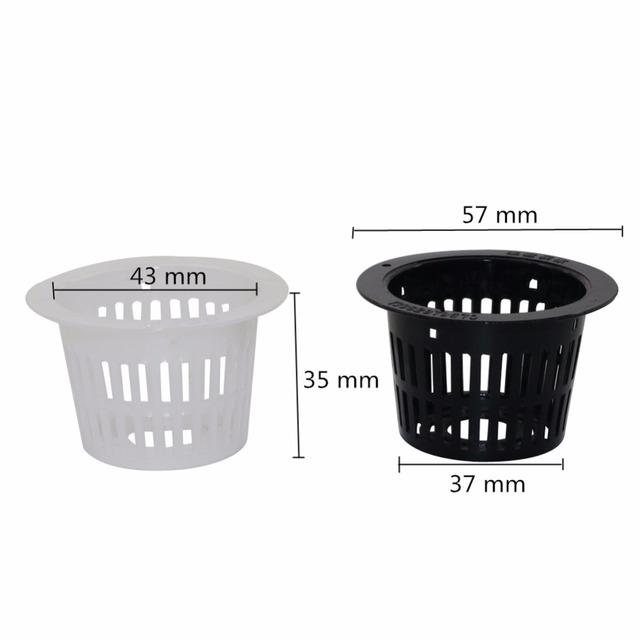 10 Pcs Soilless cultivation Pot Heavy Duty Mesh Pot Net Cup Vegetable Grow Basket Flower Plant For Plants Growth Accessories