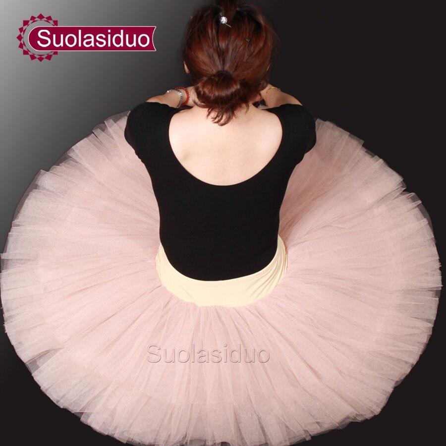 Adulte rose professionnel Ballet Tutu jupe femmes danse fil robe filles cygne lac scène Performance Costumes