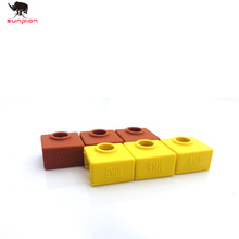 3D Printer MK9 Silicone Sock Protective Cover Case for Heater Block of Creality CR-10,10S,S4,S5 Anet A8 MK8.MK9