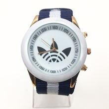 2019 новые женские модные часы люксовый бренд ad нейлон Женские