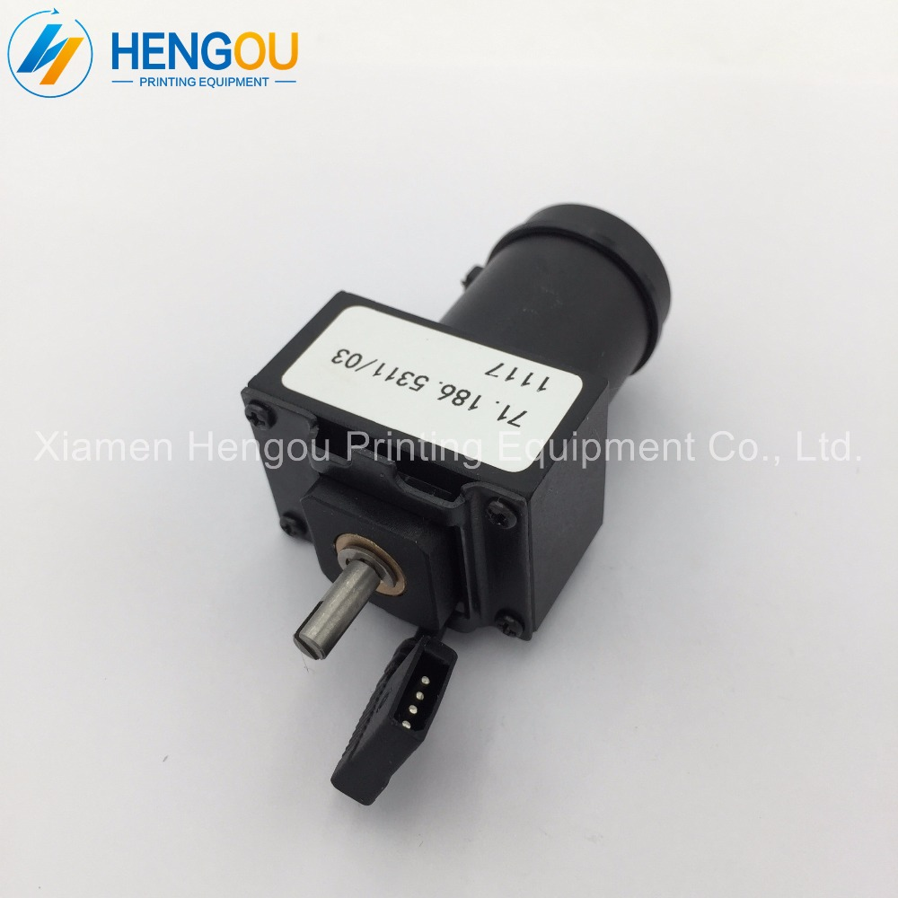 offset printing parts motor heidelberg 71.186.5311, ink key motor for SM74 heidelberg clutch for heidelberg mo