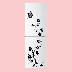 Image 5 - 2020 High Quality Wall Sticker Creative Refrigerator Sticker Butterfly Pattern Wall Stickers Home Decor Wallpaper Free Shipping