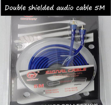Speaker Wire Home theater  5 m Blue audio subwoofer amplifier connection  Subwoofer Amplifier Cable Audio