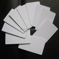 Low Price!!! 20PCS Glossy Printable Blank PVC ID Card No Chip For Canon MX923 MG5420 MG5430 MG5450 MG5550 Tray 86 x 54 x0.76mm
