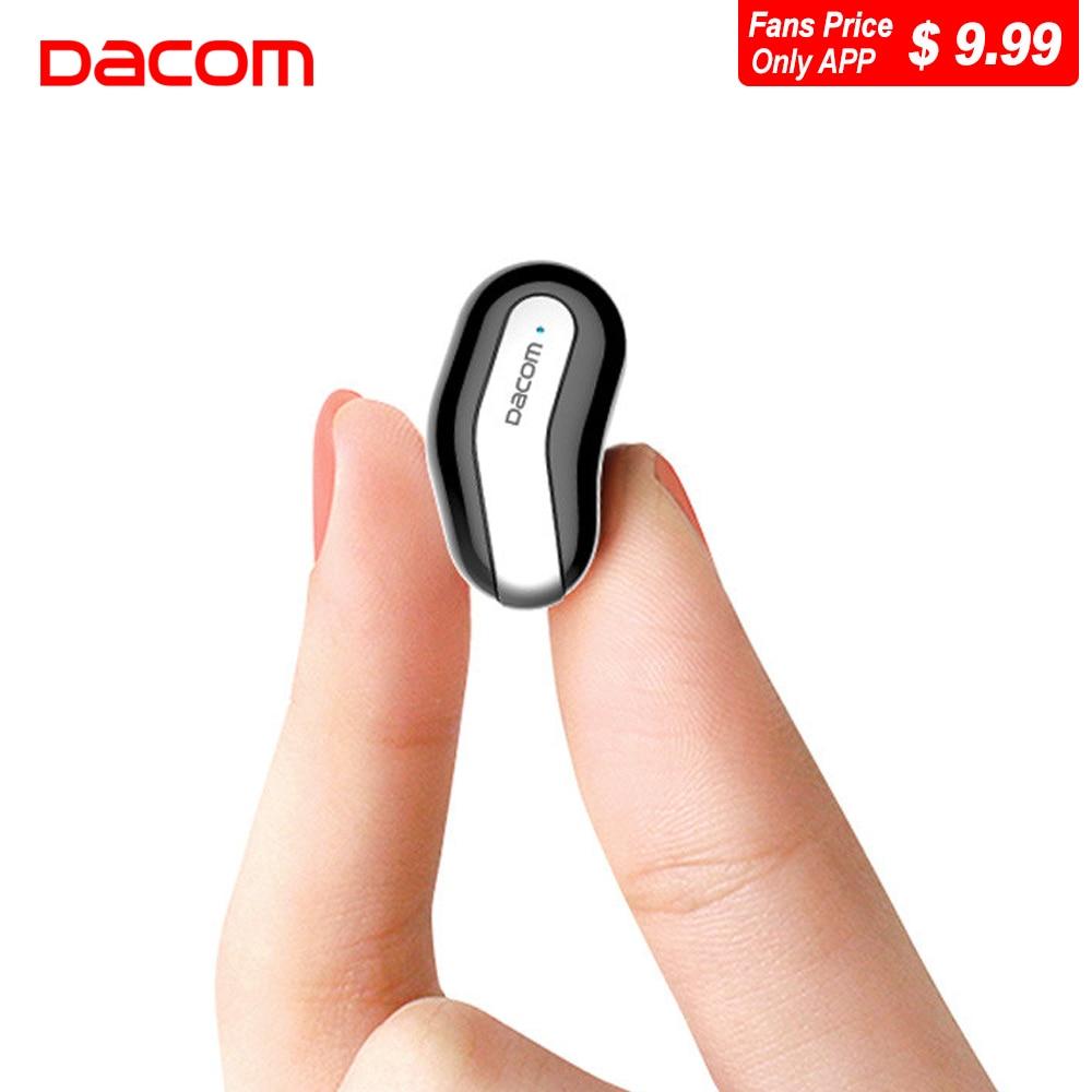 Hot Sale Dacom K8 Mono Cordless Earbuds Hidden Invisible Earpiece Headset Bluetooth Earbud Mini Micro Wireless Earphone Headphone For Phone
