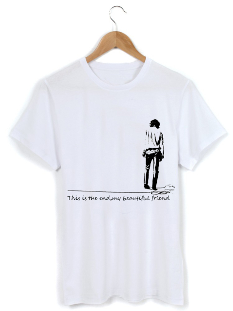 The Doors Jim Morrison The End My Beatiful Friend Washed Cotton T-shirt  sc 1 st  AliExpress.com : doors shirt - pezcame.com