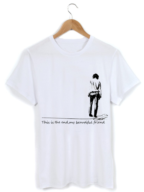 The Doors Jim Morrison The End My Beatiful Friend Washed Cotton T-shirt  sc 1 st  AliExpress.com & The Doors Jim Morrison The End My Beatiful Friend Washed Cotton T ...
