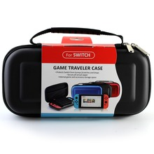 Hard EVA Travel Portable Case Protective case game player Storage Zip Storage Bag for Nintendo Switch Console
