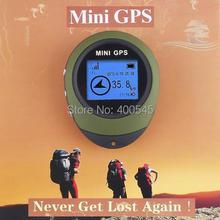 Мини-handheld Keychain PG03 мини-gps-навигаторы USB перезаряжаемые GPS навигатор для горячей