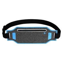 25PCS / LOT Running Waist Pouch Belt Sport Mobile Phone Men Women With Hidden Gym Fanny Pack Bag
