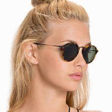 59183e8269c52 Nova Marca Ray Designer de Condução Clássicos Óculos De Sol Redondos Homens  Retro John Lennon Óculos de Sol Das Mulheres Óculos .