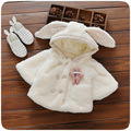 Fashion Baby Coats  Winter Warm Baby Girls Outerwear Fashion Kids Party Wear Children Thicken Clothe