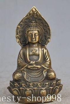 Christmas Tibetan Buddhism Bronze sakyamuni Amitabha Shakyamuni Medicine Buddha statue Halloween