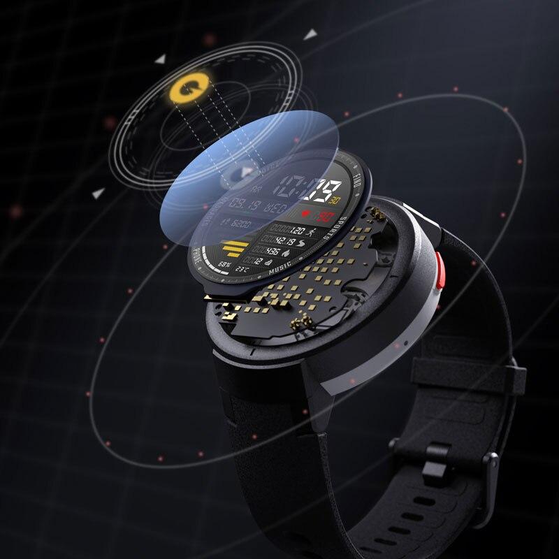 シャオ mi Amazfit 間際英語版スマート腕時計華 mi mi 1.3 インチ Amoled スクリーンアップグレード時センサー GPS IP68 防水  グループ上の 家電製品 からの スマートウォッチ の中 2