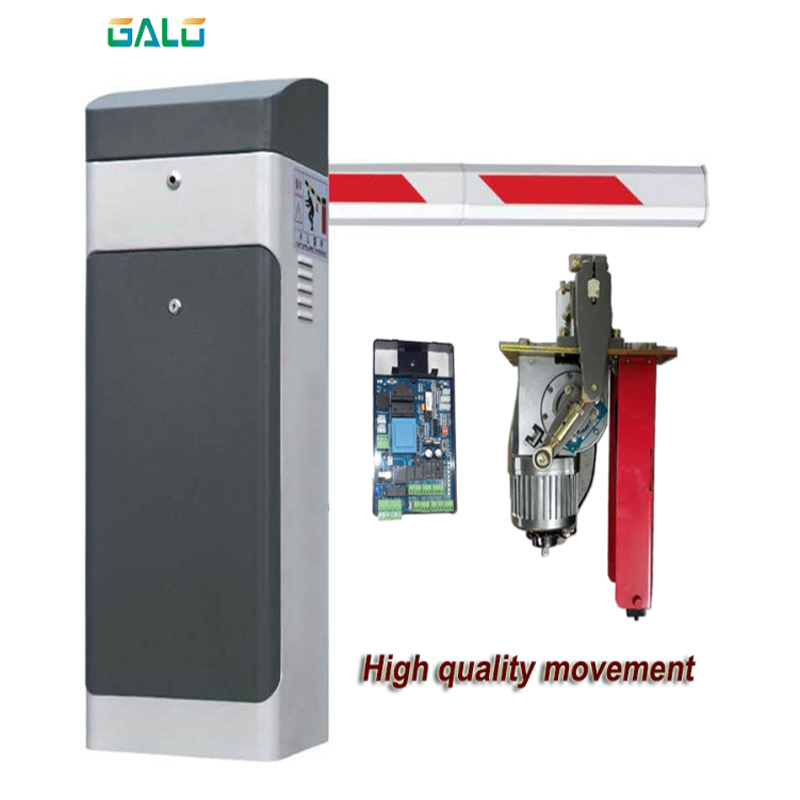 CE Approved Gate Barrier 1Sec High Speed Boom Barrier Gate For Car Parking System