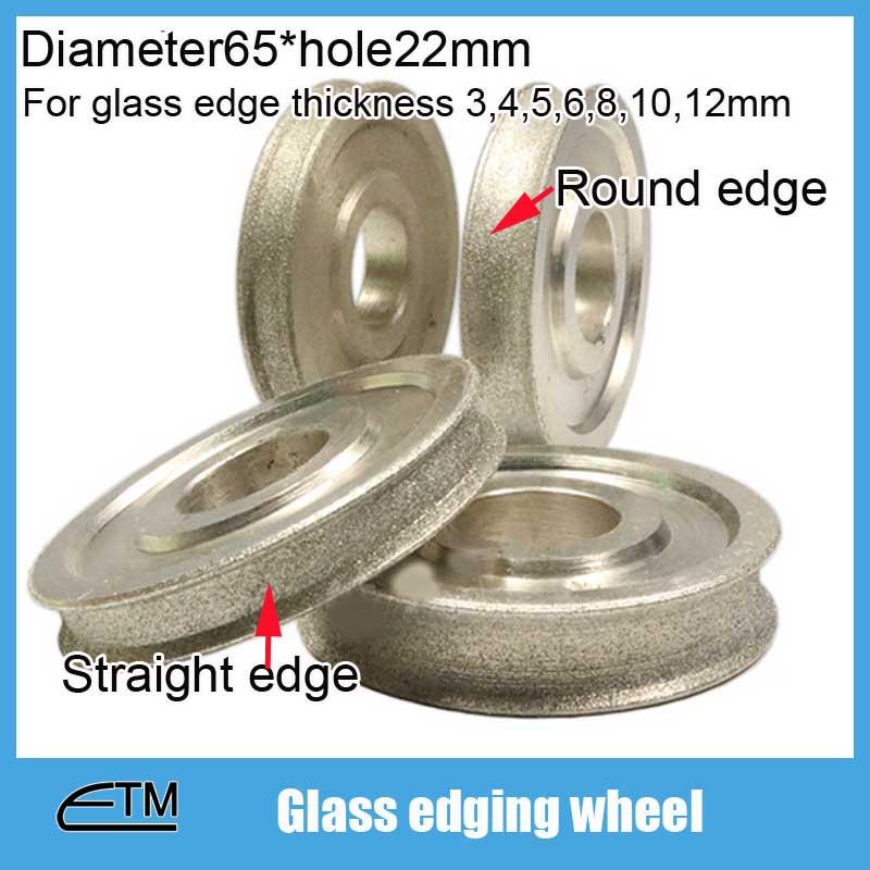 1 pièce Meule abrasive électrolytique revêtue de diamant de bord - Outils abrasifs - Photo 2