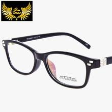 2016 New Design Vintage TR90 Men Women Eye Glasses Quality Fashion Square Rim Optical Frame Retro Eyewear For Men Women Oculos