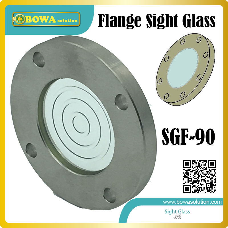 large size Glass window sight glass  for gear machine or equipment to monitor lubrication oil level and changes air compressor o ring 1 2pt thread oil level sight glass