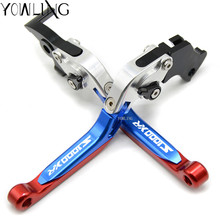 For BMW S1000XR 2015 2016 Accessories Folding Extendable CNC Motorcycle Brake Clutch Lever for bmw s1000rr 2015 2016 s1000 logo silver blue motobike motorcycle adjustable folding extendable brake clutch lever