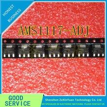 100PCS/LOT AMS1117-ADJ AMS1117 1A SOT-223 Voltage Regulato new original