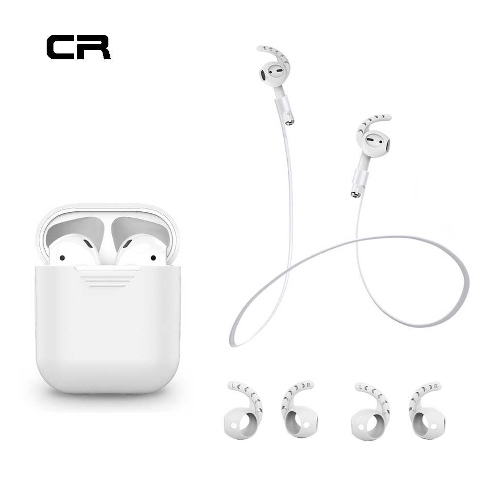 Ahastyle CA2 Ear Hook For Airpod Apple Accessories Cover For Air Pods Apple  Headphones Earbud Case For Airpods Accessories Case