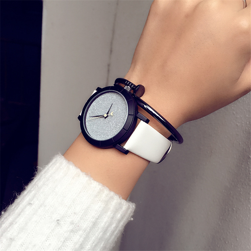 2018 Casual Brand Women Quartz Watches montre femme Fashion Leather Women Wristwatch reloj mujer Ladies Watch Girl Clock comtex ladies watch spring casual yellow leather women wristwatch for girl new fashion quartz calendar watches reloj clock gift