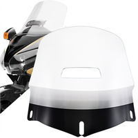 Motorcycle Clear Windscreen Windshield w Fresh Air Vent Resistance to Breakage Fit For Honda 01 2017 Goldwing Airbag 1800 GL1800
