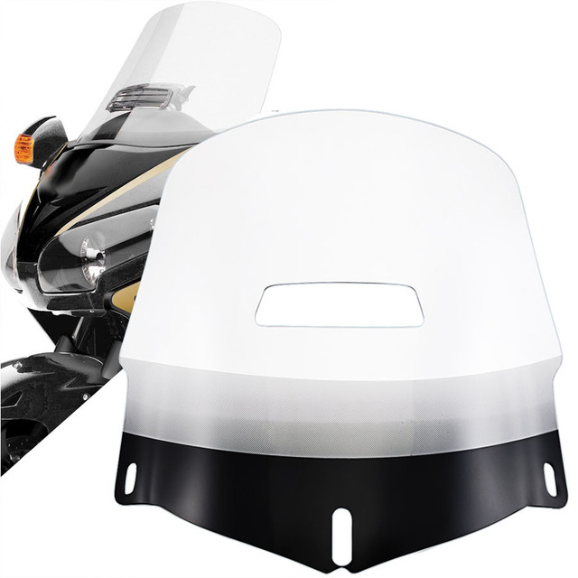 Motorcycle Clear Windscreen Windshield w Fresh Air Vent Resistance to Breakage Fit For Honda 01-2017 Goldwing Airbag 1800 GL1800